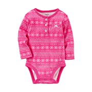 Carter's Baby Girls' Fairisle Bodysuit 9 Months