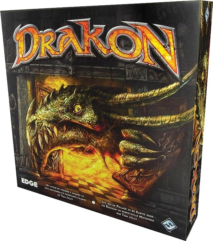 Edge Entertainment Drakon - Juego de persecuciones EDGTJ09: Amazon.es: Juguetes y juegos