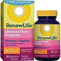 Renew Life - Ultimate Flora Probiotic Women's Care - 50 billion - probiotics for...