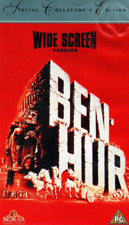 Ben-Hur [USA] [VHS]: Amazon.es: Charlton Heston, Jack ...