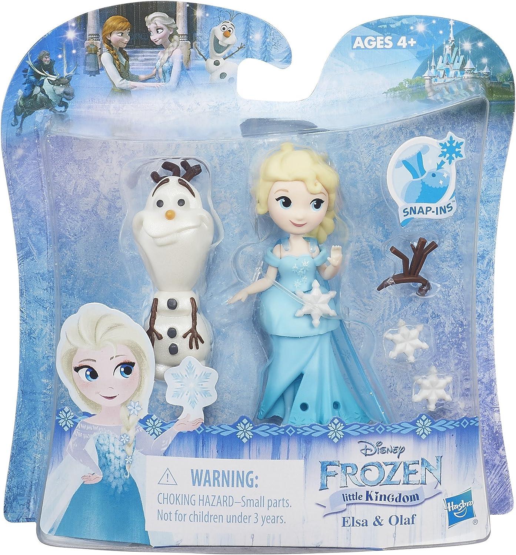 NEW Disney Frozen Little Kingdom Olaf/'s Ice Fishing Fun Figurines Toy Doll Set
