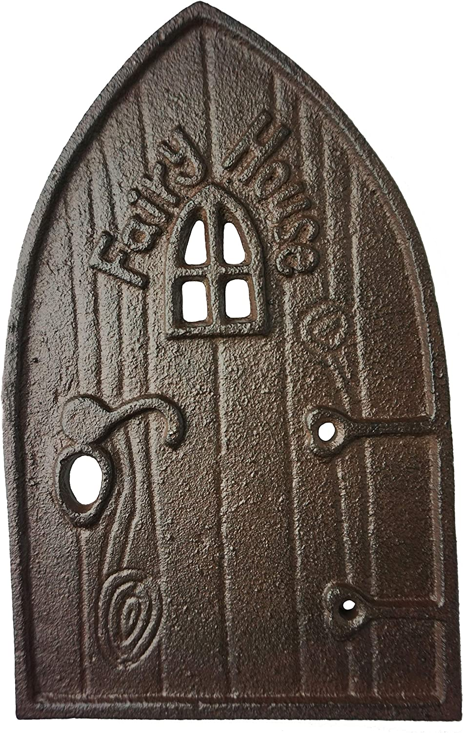 "Lulu Decor, Cast Iron Fairy Door 8"" (Garden Décor)"