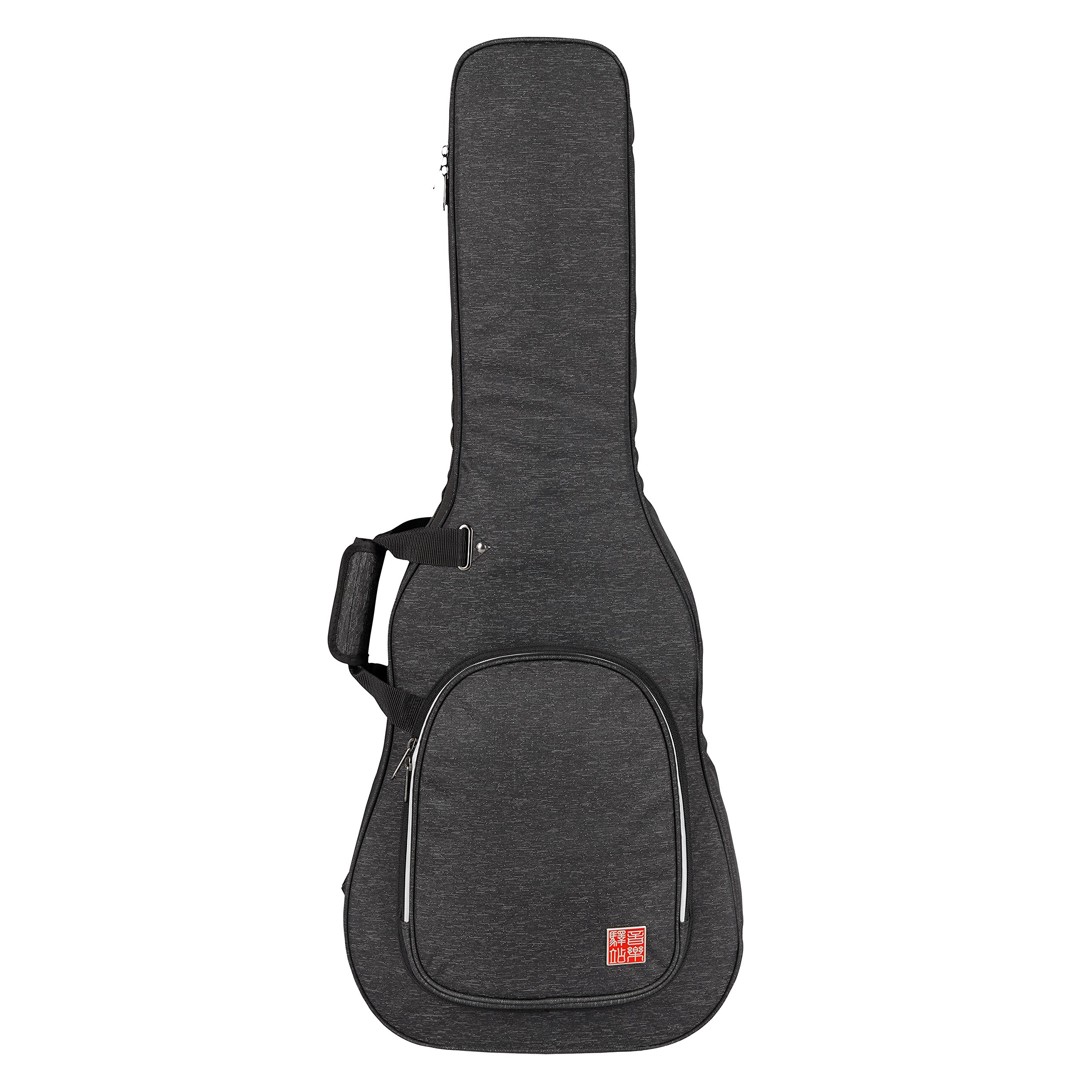 Music Area RB20 Electric Guitar Gig Bag Waterproof with 20mm cushion protection - Black