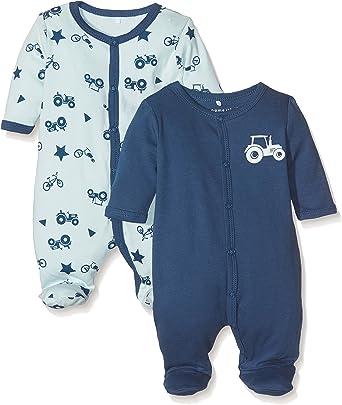 B/éb/é gar/çon Name It Pyjama Lot de 2