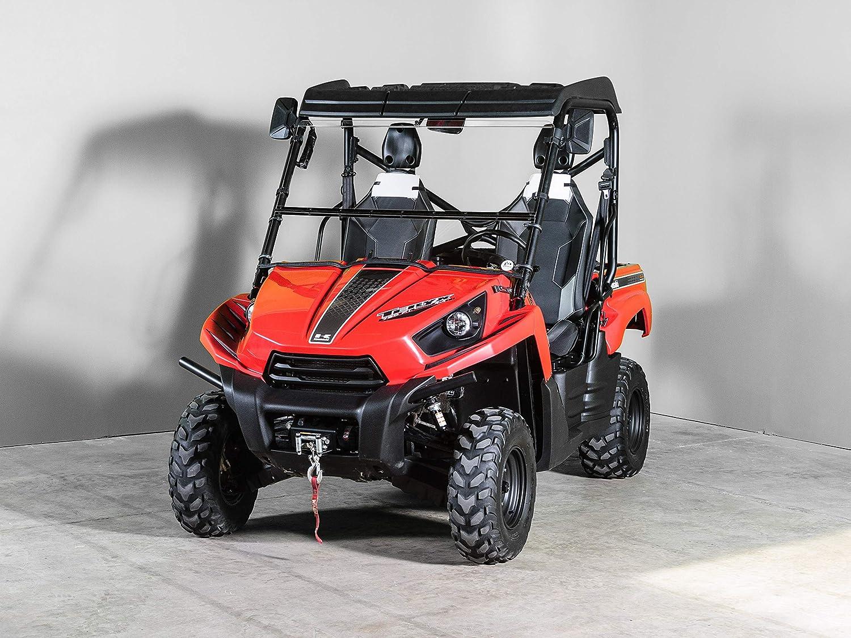 "Models 2010-2013 Kawasaki Teryx Full Tilting UTV Windshield 3//16/"""