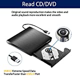 Focuslife External CD Drive, USB 3.0 Portable