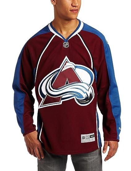 1b6eaa2e Amazon.com : NHL Colorado Avalanche Reebok Premier Jersey, Maroon ...