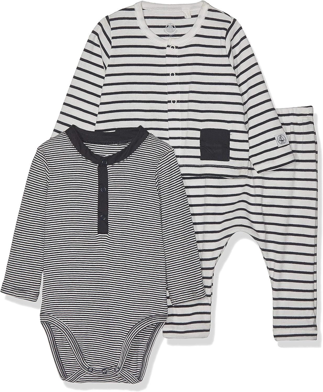 Petit Bateau Baby-M/ädchen Bertine Bekleidungsset