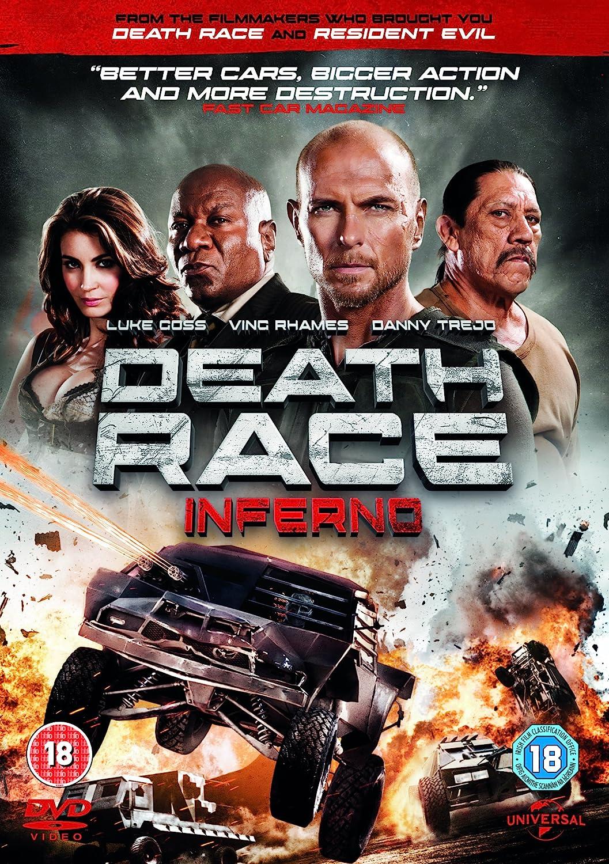 Death Race 3: Inferno [DVD] [2012]: Amazon.co.uk: Danny Trejo, Luke Goss,  Ving Rhames, Roel Reiné, Danny Trejo, Luke Goss: DVD & Blu-ray
