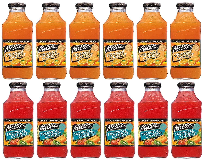 Mistic Orange Carrot Juice Drink, 64 fl oz | La Comprita