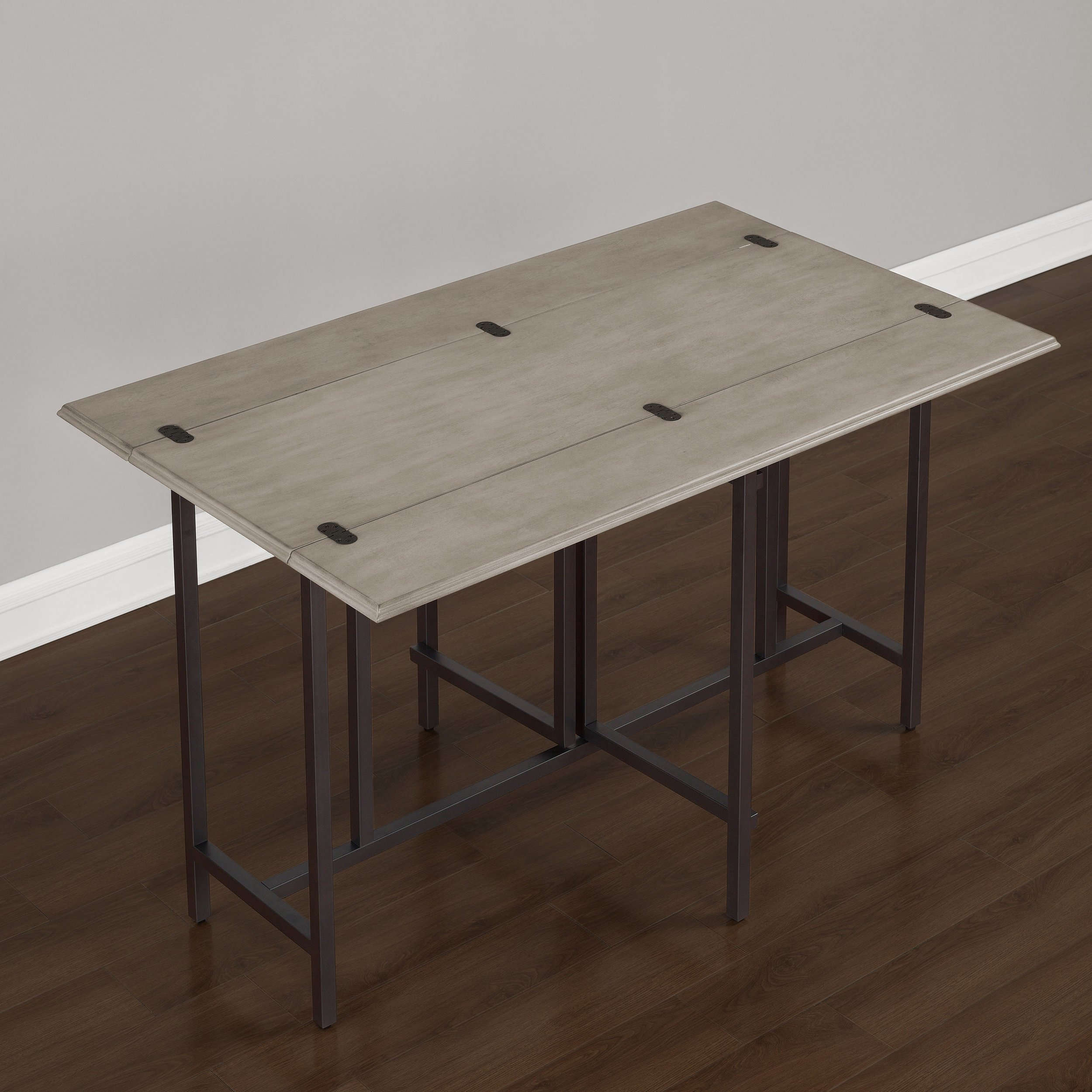 Convertible Dining Table Wood Contemporary Expandable Home Console Kitchen Table by I Love Living (Image #2)