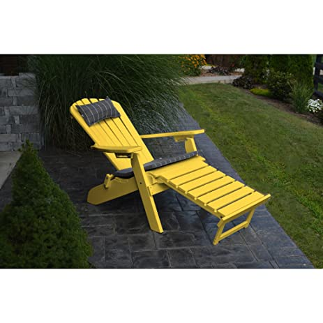 au0026l furniture co folding reclining recycled plastic adirondack chair w pullout ottoman recycled plastic adirondack chairs34 chairs
