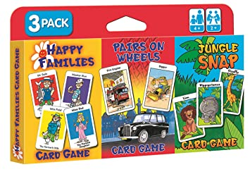 children s card games jungle snap pairs on wheels happy
