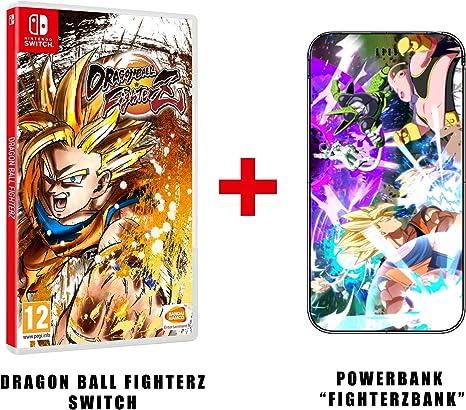 Dragon Ball Fighterz Z (Switch) + Batterie DBZ Mana 4000mAh ...
