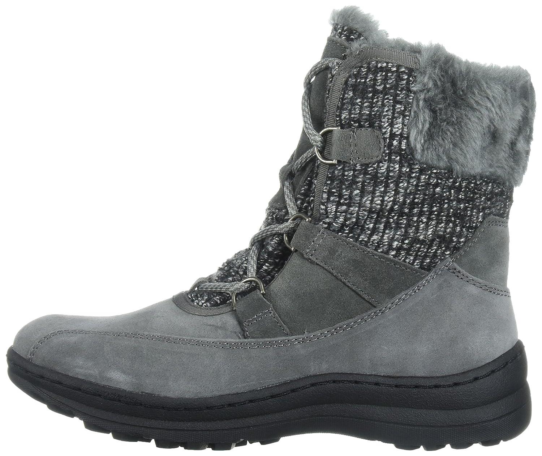 BareTraps Women's Aero Snow Boot, Black, 7.5 M US B0716LBTTB 8.5 B(M) US|Dk Grey