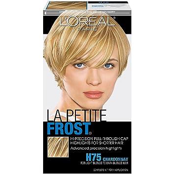 Amazon loral paris le petite frost cap hair highlights for loral paris le petite frost cap hair highlights for shorter hair h75 chardonnay pmusecretfo Image collections