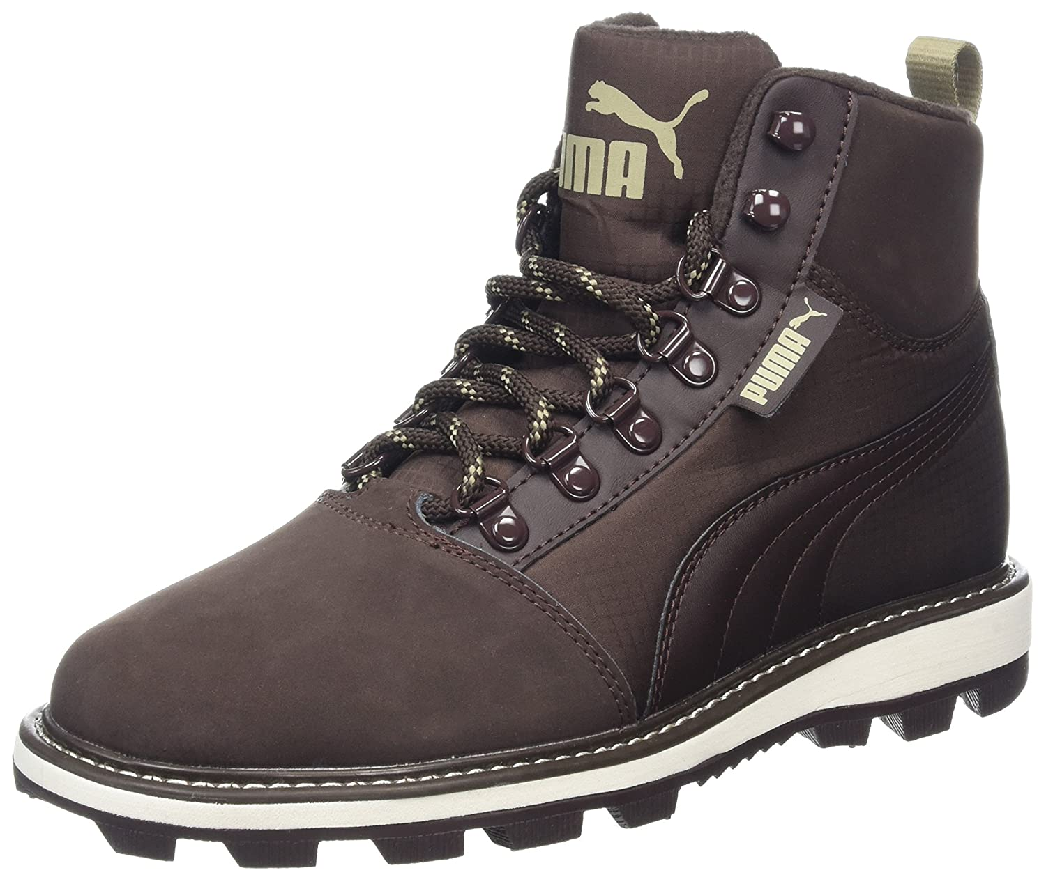 Puma Tatau Fur Boot 2, Zapatillas Unisex Adulto, Marrón (Black Coffee-Chocolate Brown), 38 EU 38 EU|Marrón (Black Coffee-chocolate Brown)