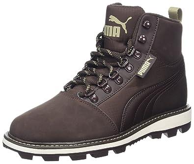 Puma Unisex Adults' Tatau Fur Boot 2 Low Top Sneakers, Brown