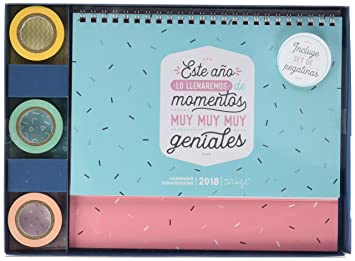 Calendario Mr Wonderful 2019.Mr Wonderful Calendario Scrapbooking 2019 Amac Org Com
