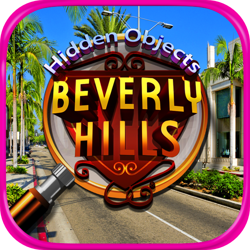 Hidden Objects Beverly Hills - Spot the Difference, Photo Hunter in Time Games - Drive Beverly In