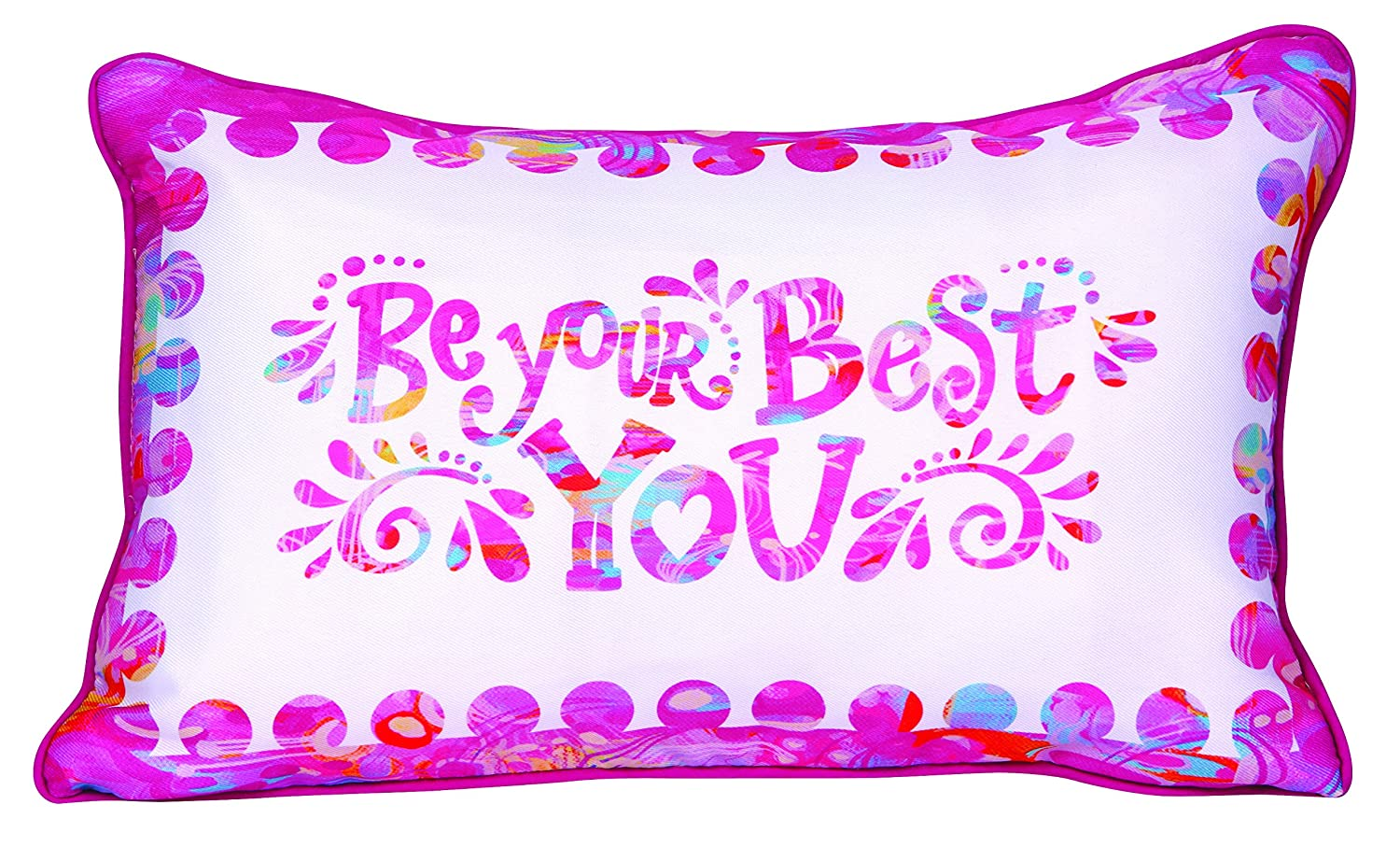 8144413 Stephanie Corfee Be Your Best You Pillow
