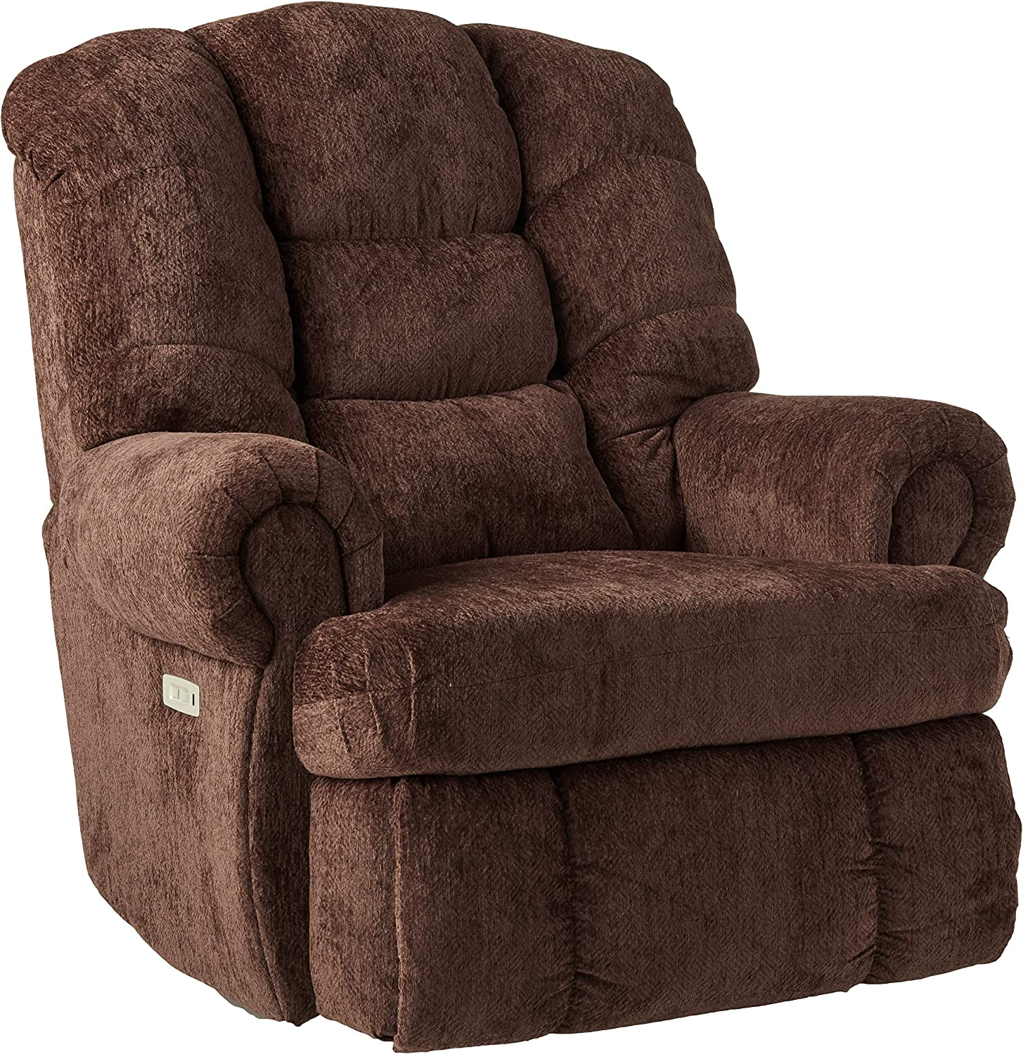 Lane Home Furnishings 4501P-19 Torino Wine Power Rocker Recliner Wine, Medium