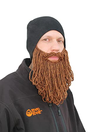 727cf56bf40 The Original Beard BeanieTM Eco2 Black Long Beard  Amazon.co.uk  Sports    Outdoors