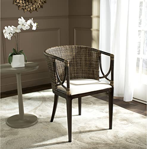 Safavieh Home Collection Beningo and Arm Chair, Brown Black