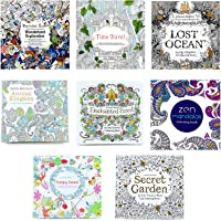 Not application 8 stks Kleurboek Tuin Bos Droom Dier Wonderland Ocean Mandala Reizen Kleur Vulling Boek Voor Kids…