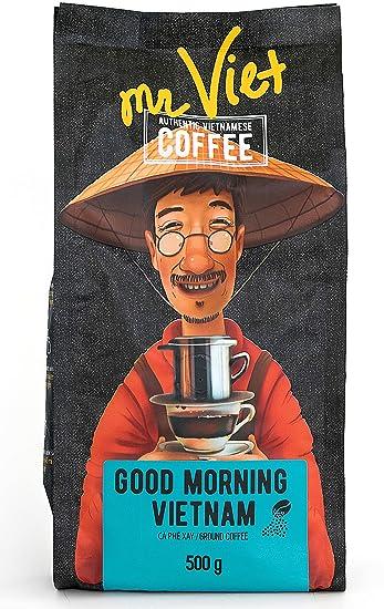 Amazoncom Mr Viet Good Morning Vietnam Ground Coffee Fresh And