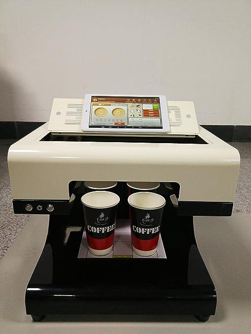 Amazon.com: Mokka Café Impresora, 2017 Upgrade 2 tazas Latte ...