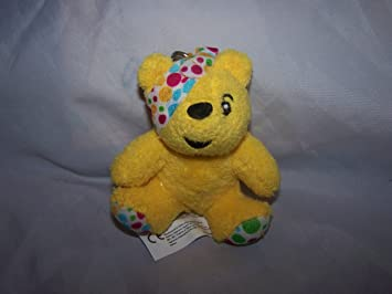 Pudsey bear Keyring: Amazon co uk: Toys & Games
