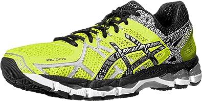 ASICS Gel-Kayano 21 Lite-Show Tenis para Correr para Hombre, Amarillo (Yellow/Lite/Black), 41 EU: Amazon.es: Zapatos y complementos
