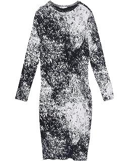 2dce51d6 Zara Women's Tie-dye Dress 4661/108 Pink: Amazon.co.uk: Clothing