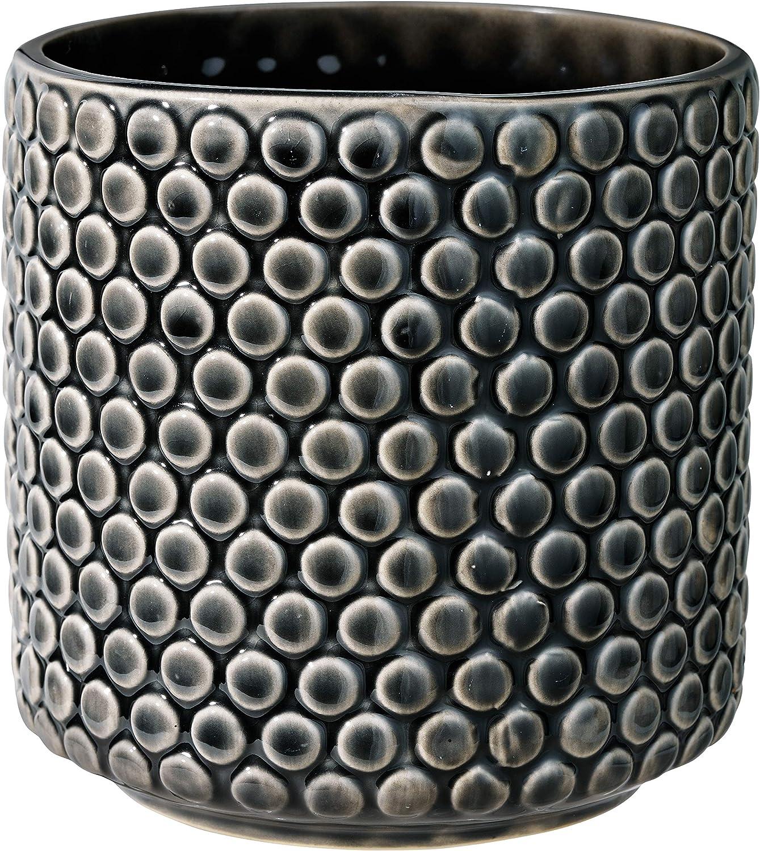 terracotta. Bloomingville Decorative flower pot black