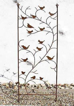 DanDiBo Support pour plantes grimpantes avec oiseaux 120705 Treillis ...