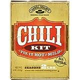 Carroll Shelbys Original Texas Chili Kit, (Pack of 3)