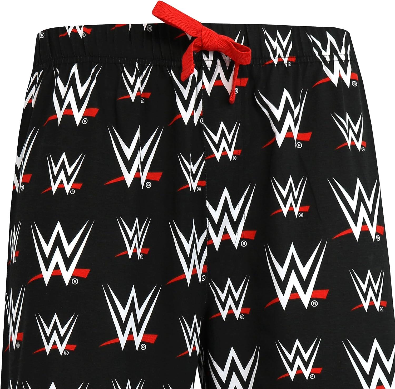 WWE Mens World Wrestling Entertainment Lounge Pant