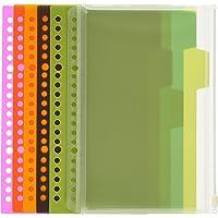 KOKUYO 国誉 WSG-RUS92 A5 20孔活页本配件套装(索引页+拉边袋+资料册)