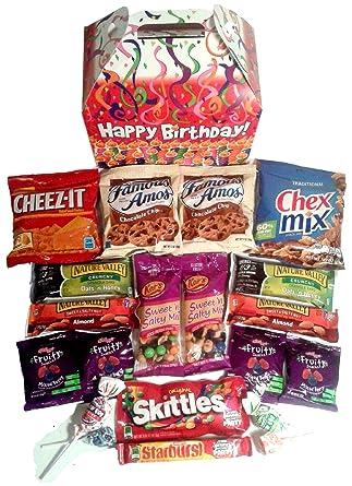 El paquete incluye divertidas velas de cumpleaños, caja de ...
