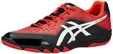 ASICS Men's Gel-Blade 6 Classic Red/Silver/Cherry Toma Indoor ...