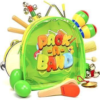 Amazon.com: Toddler Toys Musical Instruments - Frunsi 15 ...