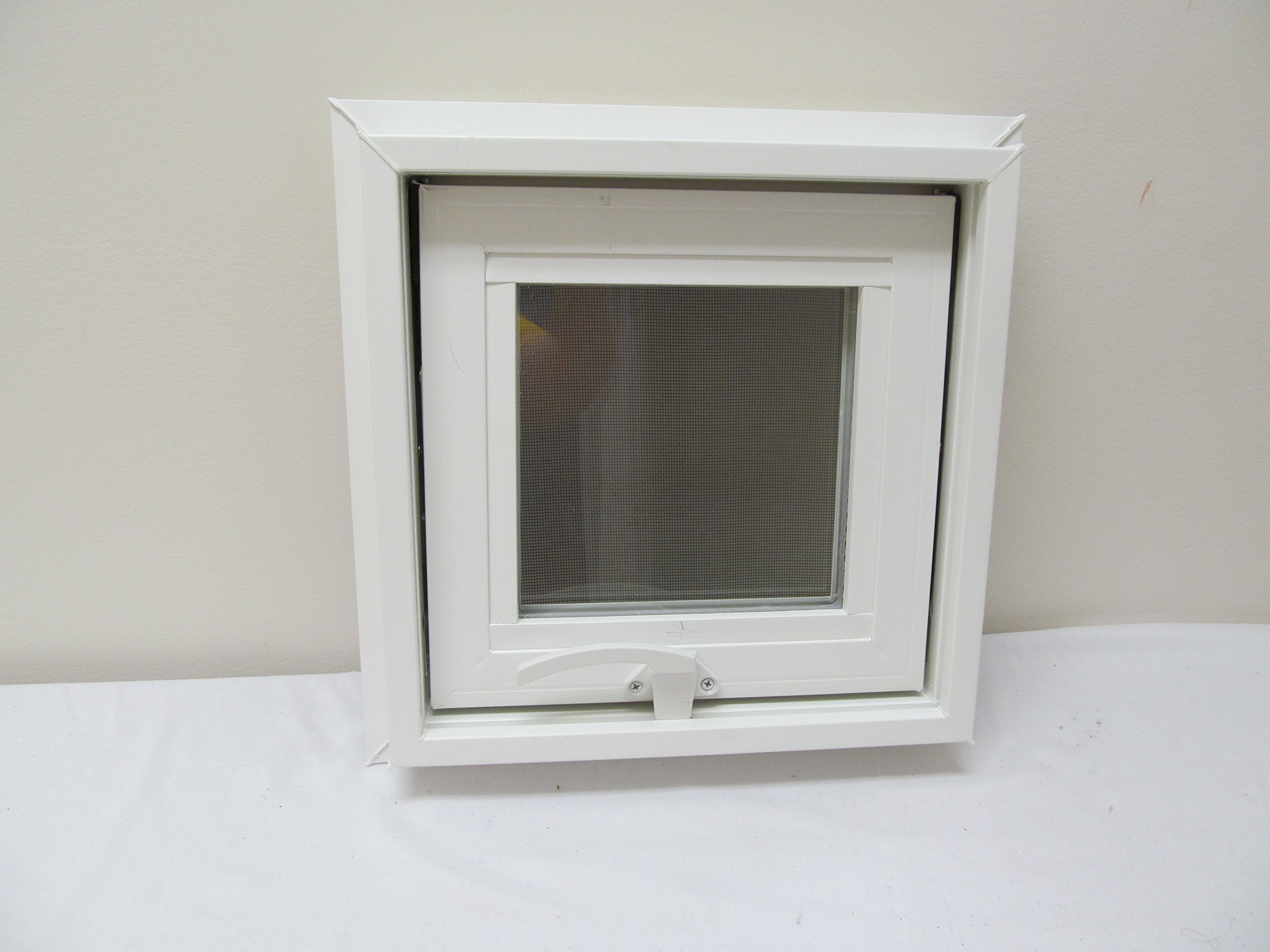 Awning Windows Style 12'' x 12'' Vinyl PVC Windows Home Windows Tiny House Windows Playhouse Windows Shed Windows by Shed Windows and More