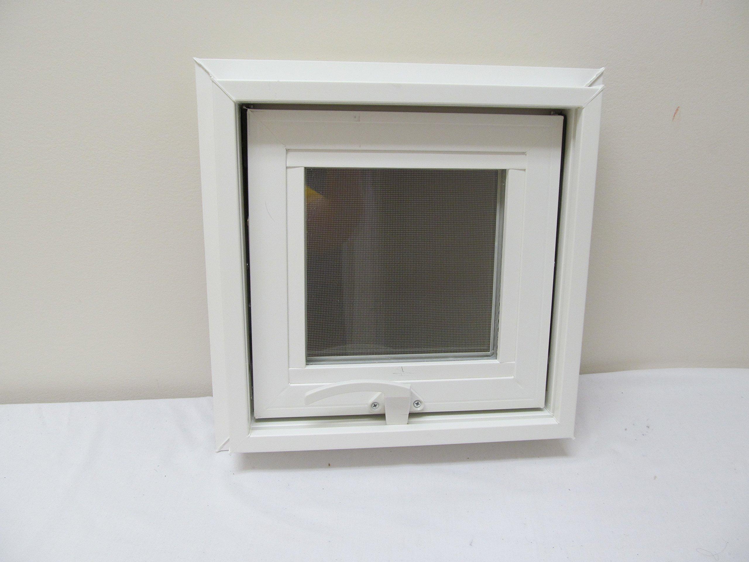 Awning Windows Style 12'' x 12'' Vinyl PVC Windows Home Windows Tiny House Windows Playhouse Windows Shed Windows