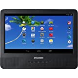 Sylvania 9-Inch 2-in-1 Portable DVD Player, and Android Wi-Fi Tablet; High Resolution Touch Screen Interface with Android Operating System and 1.3 GHZ Quad Core Processor