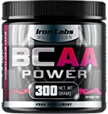 BCAA POWER - Ultra Potent 15,000mg BCAAs | Intra Workout Supplement Drink - Muscle Energy | Berry Blast Flavour | 10:1:1 BCAA Ratio - 300 grams