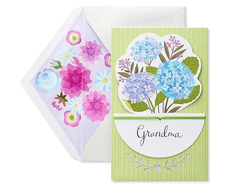 Amazon.com: american greetings rosa Floral Tarjeta del día ...