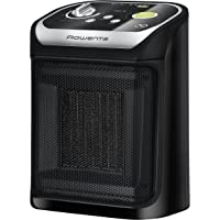 Rowenta SO9265F0 Mini Excel Eco Safe Termoventilatore Ceramico, 1800 W, 49 Decibel, plastica, Nero