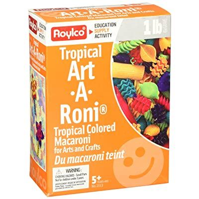 Roylco Inc. R-2113 Tropical Colored Noodles Art-a-roni: Toys & Games