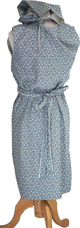 Hilda Ogden-Mrs Overall-1940s-NORA BATTY WRAP AROUND PINNY /& HEADSCARF All Sizes